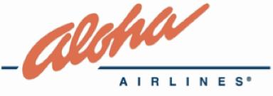 GSA for ALOHA AIRLINES
